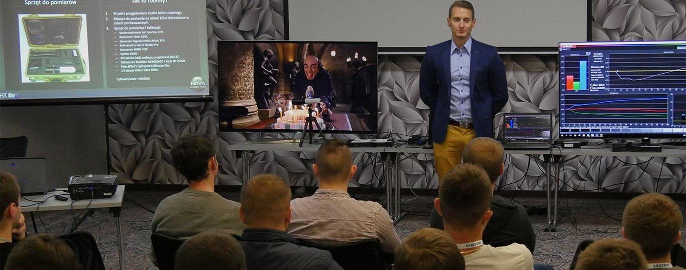 Szkolenie z kalibracji TV